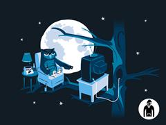 Night Owl Pullover Hoodie