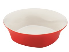 "10"" Round Serving Bowl - Red"