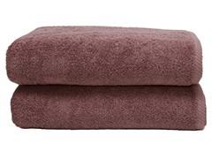 700GSM Soft Twist Bath Sheets-S/2-Plum