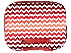 Fuzzy Lapdesk - Chevron Red Fade