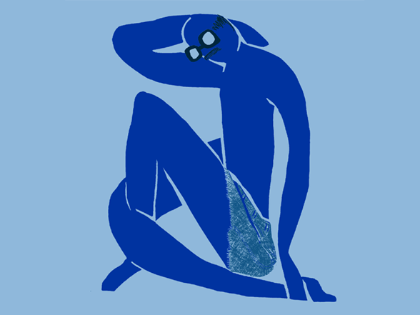 Blue (Never)Nude XQA1614d