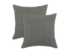 Interlochen 17x17 Pillows - Grey - Set of 2
