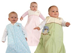 HALO 100% Cotton Sleepsack - XL Lime Owl
