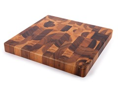 Core Acacia Square Checker Chop Block -Large