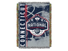 UConn NCAA Champions Tapestry Throw