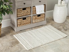 "Natural 20""x34"" Bath Rugs - Set of 2"