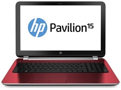 "HP 15.6"" AMD A6 Quad-Core Laptop - Red"