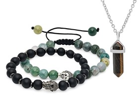 Natural Healing Gemstone Bracelet & Necklace