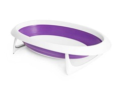 Naked Collapsible Bathtub - Purple