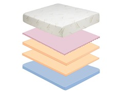 "Pure Form 9"" Queen Mattress"