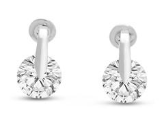 8mm Swarovski Elements Crystal Earrings
