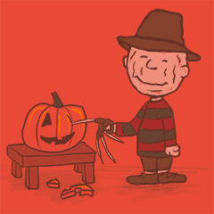A Pumpkin Party on Elm Street