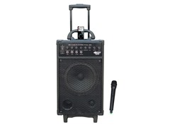 500W VHF Wireless Portable PA System w/ iPod Dock