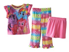 My Little Pony 3-Piece Set (2T-4T)