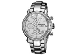 Stainless Steel Crystal Chronograph