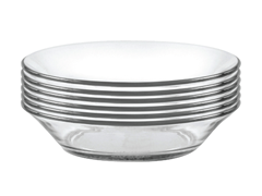 "Duralex 5.7"" Cocktail Plate - 6pc"
