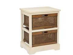 Jackson 2 Drawer Unit - White