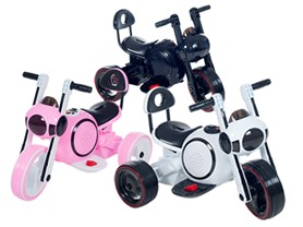 Lil' Rider LED Battery Power Trike - 3 Colors