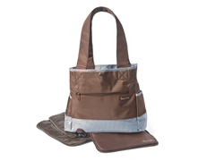 Brown Yacht Tulip Tote with Clutch