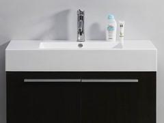 """36"""" Midori: Single Sink Bathroom Vanity- Wenge"""