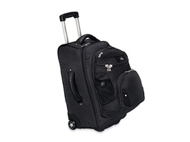 "22"" Wheeled Backpack - Black"