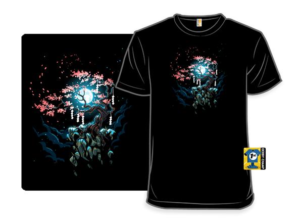Lunar Blossom T Shirt