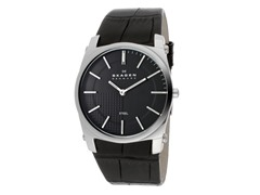 Men's Steel Black Dial Stainless Steel