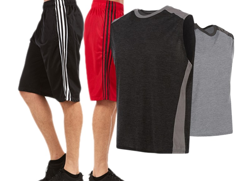 Men's Active Performance Shorts and Tanks