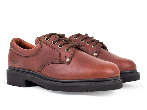 s slip resistant oxford work shoes