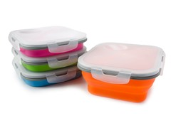 Eco Meal Lunch Box, 4-Pack
