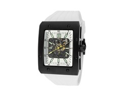 Men's Automatic See Thru Dial White