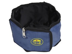 Travel Pet Bowl Wallet - Blue