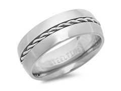 Titanium Ring w/ Chain