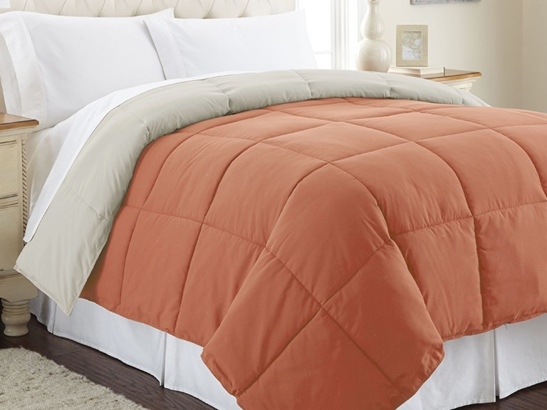 Down Alternative Reversible Comforters