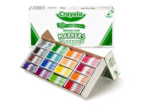 256 ct. Markers Classpack® in 16 Colors