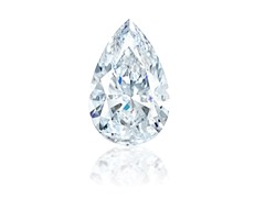 Pear Diamond 1.04 ct F VS2 with GIA report