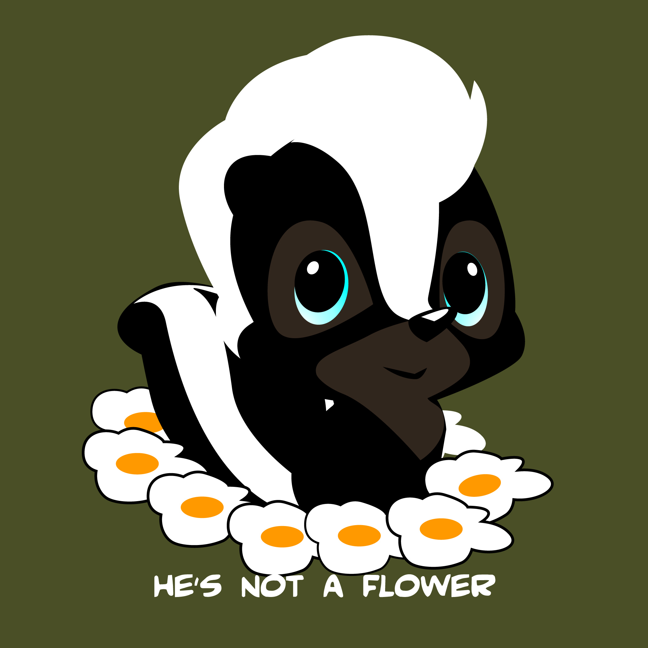 You can call him flower
