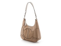 Guess Balin Small Hobo Handbag, Sand