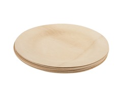 "Luxeware Bamboo Plates 11"", Set of 8"