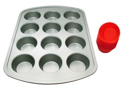 12-Cup Muffin Bakeware Set