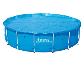 Bestway Frame Swimming Pool Cover, 15' by 48""