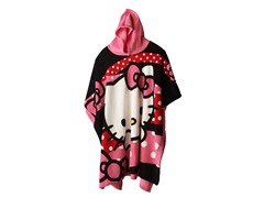 Hello Kitty Hooded Poncho - Youth