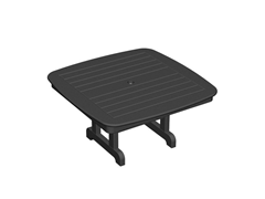 Nautical Conversation Table, Black