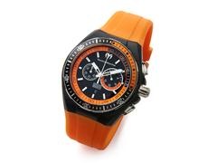 Black/Orange Men's Cruise Watch