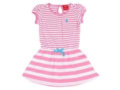 Pink & White Striped Polo Dress (3M-24M)