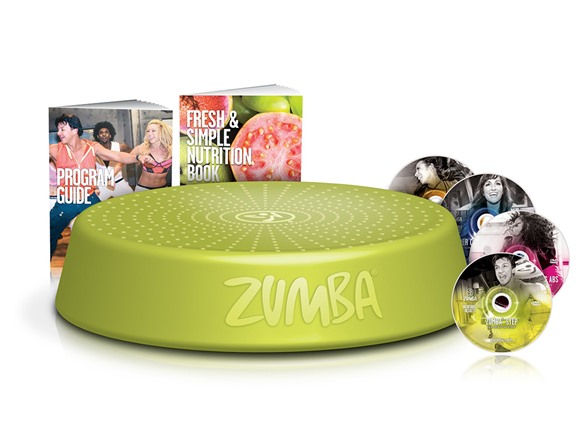 Zumba D0D00184 Incredible DVD System
