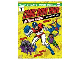 Create Your Own Superhero Action Figure Kit