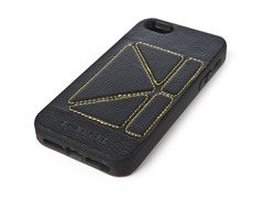 Case w/Stand for iPhone 5 - Black/Yellow