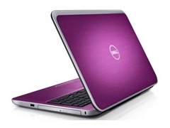"Dell 15.6"" Quad-Core Laptop - Purple"