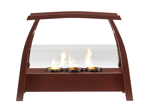 Kanto Portable Indoor Outdoor Gel Fuel Fireplace